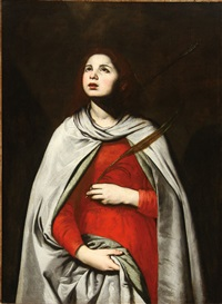 saint agnes by francesco de rosa