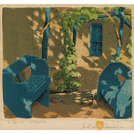 A Quiet Corner By Gustave Baumann On Artnet