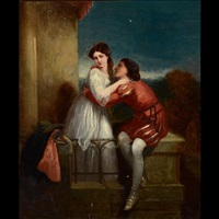 untitled - lovers by william powell frith