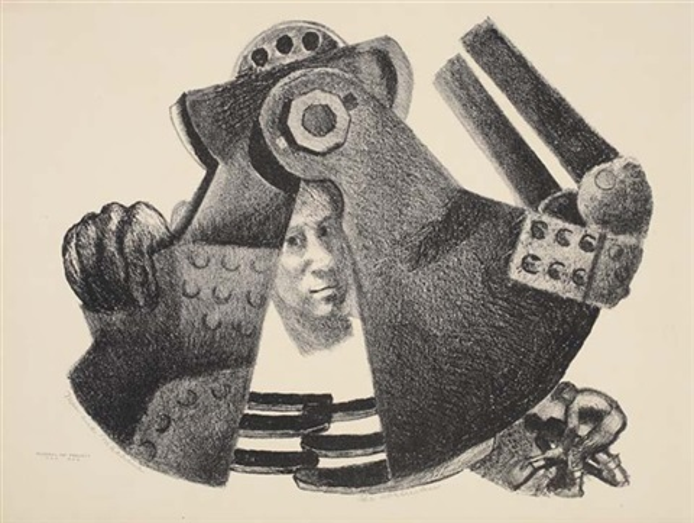 man and machine by ida abelman