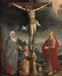 the crucifixion by jan snellinck the elder