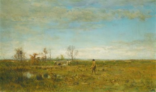 hunters in pont long by ivan pavlovich pokhitonov