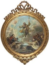 l'apparizione di cristo agli apostoli by nicola arduino
