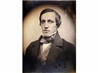 man in bow tie by southworth & hawes