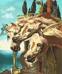 les chevaux de triomphe by salvador dalí