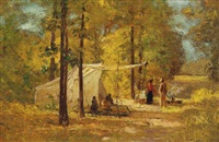 summer camp by theodore clement steele