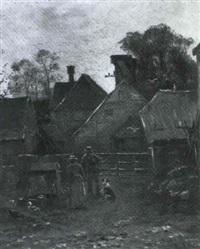 in a farmyard by william (will.) anderson