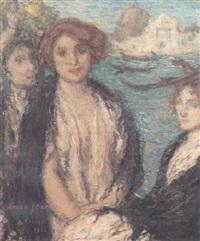 venise, trois personnages by jacques françois amand