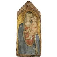 madonna col bambino by taddeo di bartolo