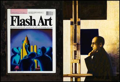a eulogy to art and aspiration flash art summer 1990 mondrian by david bierk