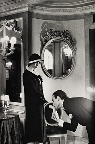 upstairs at maxims paris from private property portfolio suite ii by helmut newton