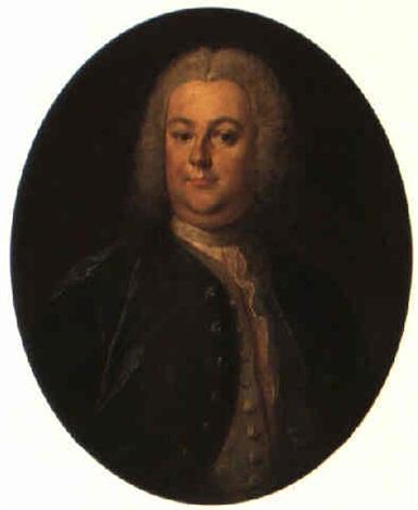 porträtt av louis de geer 1705 1758 by olof arenius