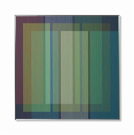 physichromie no 1601 by carlos cruz diez