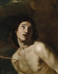 der heilige sebastian by nicolas regnier