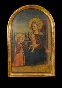 the mystic marriage of saint catherine by master of san miniato