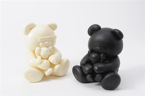 undercover bear kaws companion 3 others 4 works by kaws
