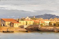 from a port by the mediterranean sea in the neighborhood of marseille by carl dahl