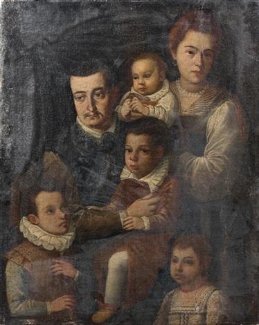 portrait de famille by jacopo da empoli chimenti
