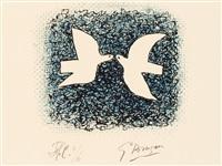 couple d'oiseau by georges braque