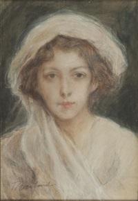 portret kobiety by teodor axentowicz
