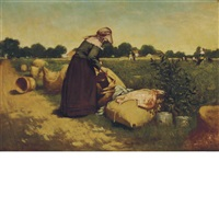 in the pea field by harry herman roseland