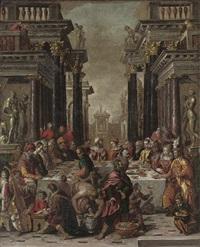balthasar's feast by lambert sustris