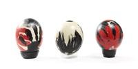 zestaw trzech jaj wielkanocnych (set of 3) by magdalena abakanowicz