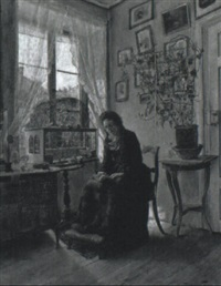 reading by the afternoon light by henry alexander