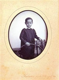 jeune garçon au cerceau by (ph) sabatier-blot