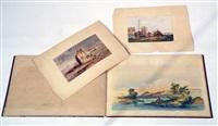 souvenirs de bretagne (album w/25 works +2 others; 27 works) by jules achille noel
