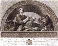 san giovanni evangelista by francesco (publisher) rosaspina
