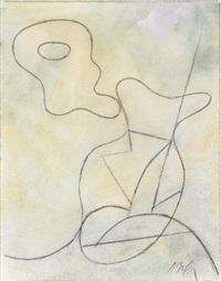 abstrakte komposition by hans arp