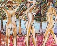 nude women by miron sima