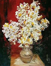 flowers by liu guibin