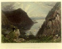 american scenery (set of 17) by william henry bartlett