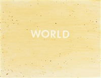 world by ed ruscha