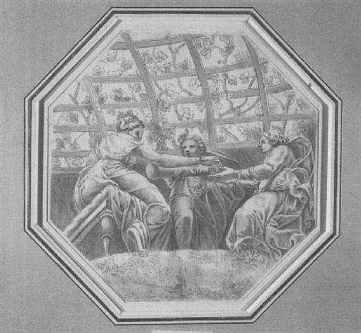 nozze di amore e psiche giulio romano by ippolito andreasi