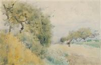 chemin sur la moselle by guillaume vogels