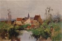 landscape by eugène galien-laloue