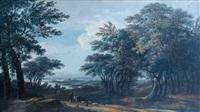 le berger dans le sous-bois by antoine pierre mongin