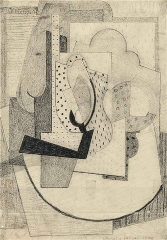 cubist composition by blanche lazzell