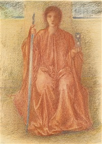 time by edward burne-jones