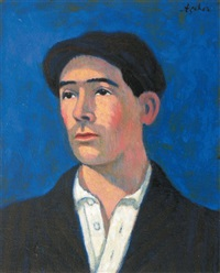 autoportrait de l'artiste by georges ascher