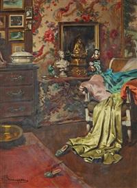 intérieur au déshabillé by alexandre françois bonnardel