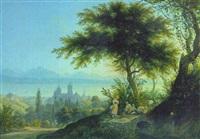vue de lausanne by emanuel labhardt