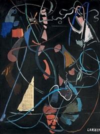 composition fond noir by andré lanskoy