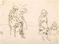 the menpes children by james abbott mcneill whistler