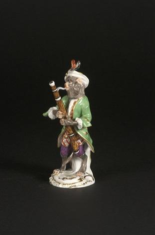 affenkapelle einzelfigur der fagottspieler