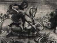 saint george and the dragon by jacopo del sellaio
