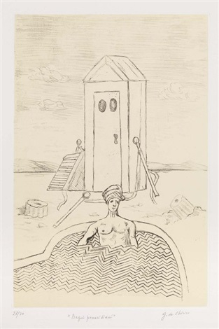 Bagni pomeridiani by Giorgio de Chirico on artnet